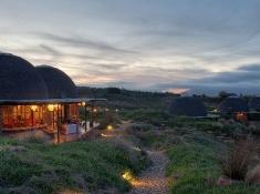 Gondwana Game Reserve Kwena Lodge at Night