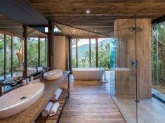 Kariega Settlers Drift Tented Suite Bathroom