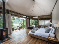Kariega Settlers Drift Tented Suite Bedroom