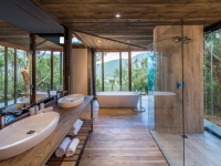 Kariega Settlers Drift Tented Suite Bathroom