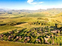 Montusi Mountain Lodge Aerial View