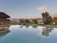 Montusi Mountain Lodge Pool Area