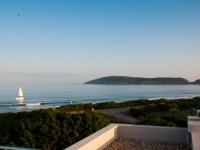 Robberg Beach Resort Deck View