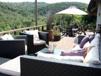 Sibuya Bush Lodge Front Deck