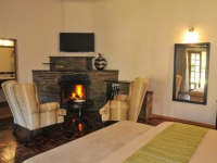 Tzaneen Country Lodge Room Fireplace23
