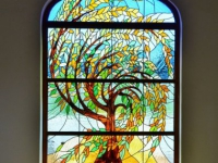 VDC Stained Glass Window