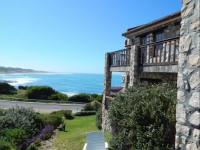 Agulhas Country Lodge Exterior and Sea View