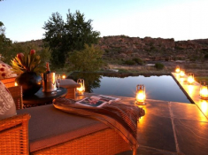 Bushmans Kloof Supreme Suite Pool