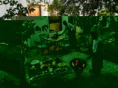 CellarsHohenort Courtyard Dining