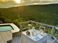 Clifftop Safari Lodge Suite Deck View