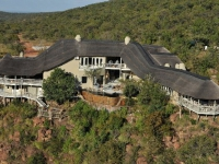 Clifftop Safari Lodge Aerial View
