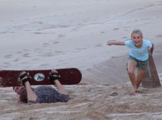 Diaz 15 Sand Surfing
