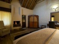 Lakeside Lodge Bedroom Fireplace