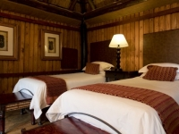 Ravineside Lodge Twin Bedroom