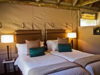 Entabeni Wildside Tented Camp Bedroom