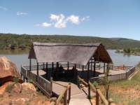 Entabeni Lakeside Lodge Deck