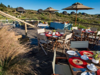 Gondwana Kwena Lodge Outdoor Dining