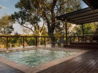 Idube Game Lodge Leadwood Suite Pool