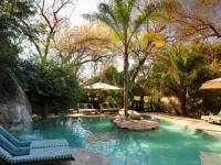 Idube Game Lodge Swimming Pool