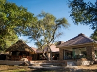 Idube Game Lodge Open Lounge Exterior