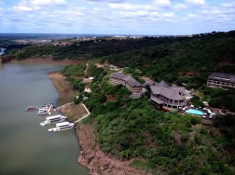 Jozini Tiger Lodge Aerial View