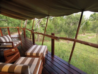 Kapama Buffalo Camp Tent Deck