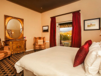 Karoo Art Hotel Bedroom with View