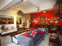 Karoo Art Hotel Lounge