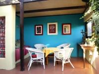 Karoo Art Hotel Sitting Area