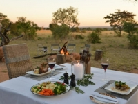 Kwafubesi Tented Camp Outdoor Dining