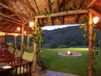 Lalibela Lentaba Lodge Marks Camp Dinner Setting