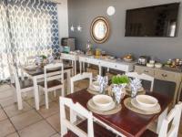 Little Rock Guest House Breakfast Room