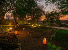 Mjejane River Lodge Boma Entrance