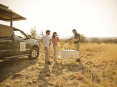 Morokolo Safari Lodge Sundowner Stop