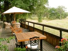 Notten's Bush Camp Deck