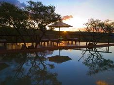 Nungubane Pool at Sunset