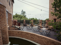 Quatermain Outdoor Dining Area