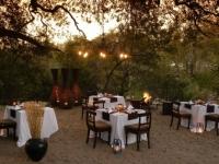 Little Bush Camp Outdoor Dinner