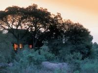 Little Bush Camp at Night