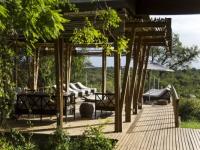 Simbavati Hilltop Lodge Deck
