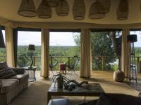 Simbavati Hilltop Lodge Lounge