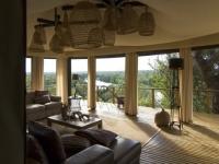 Simbavati Hilltop Lodge Indoor Lounge