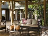 Simbavati Hilltop Lodge Outside Lounge