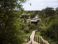 Simbavati Hilltop Lodge Tents