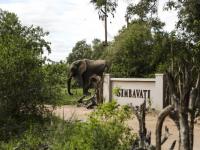Simbavati River Lodge Entrance