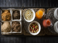 Simbavati River Lodge Food