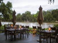 Simbavati River Lodge Outdoor Dining