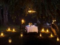 Simbavati River Lodge Private Dning