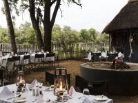 Simbavati River Lodge Boma Dinner