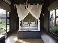 Simbavati River Lodge Chalet Bedroom